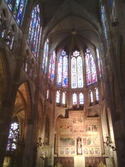 Le vetrate della cattedrale di Leon