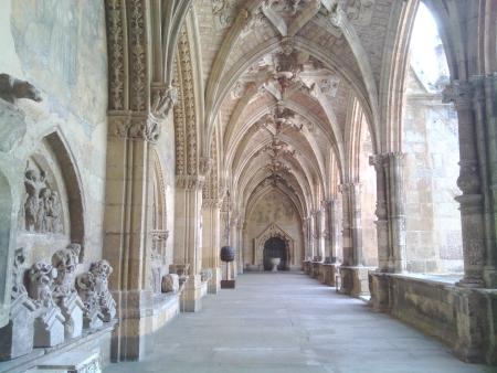Il claustro della cattedrale in Leon