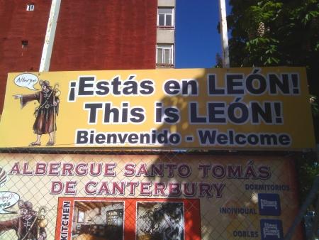 Entrando a Leon