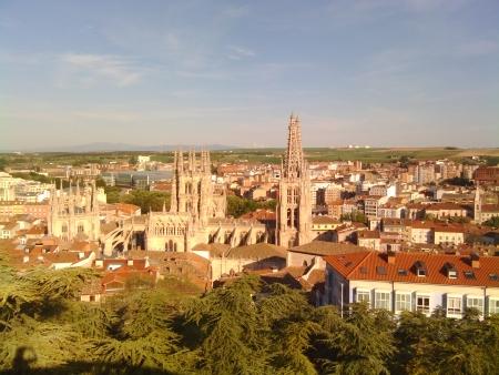 Burgos visto dall'alto