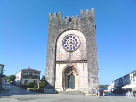 La chiesa di Portomarin