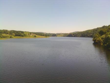 Il fiume Miño, il bacino artificiale