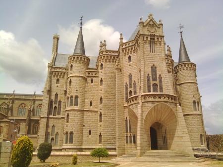 Palazzo, ora museo, di Gaudi