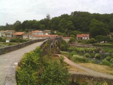 Ponte Maceira, nella prima tappa del Cammino fisserà