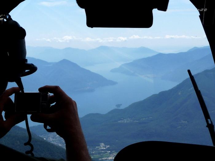 Lago Maggiore dal cielo