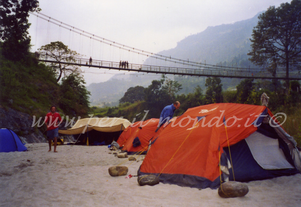 Primo accampamento Doban, Nepal