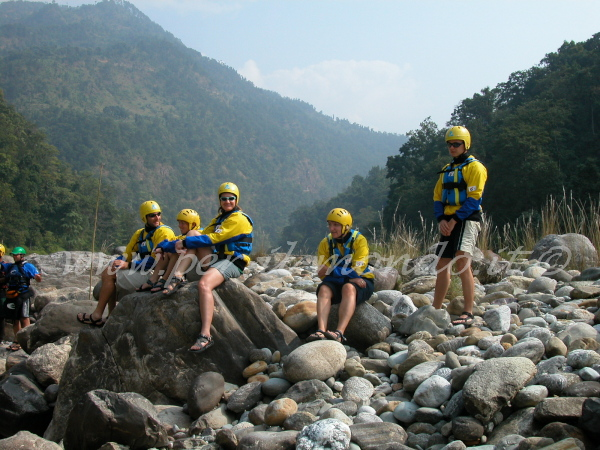 Rafting FiumeTamur, Nepal