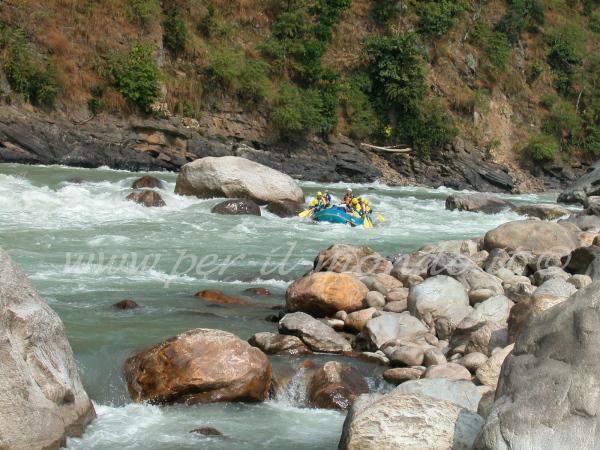 Rafting fiume Tamur - Nepal