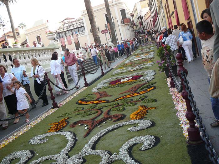 Fiesta de Corpus Christi, Tenerife