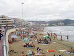 Playa Las Canteras in Las Palmas, Gran Canaria