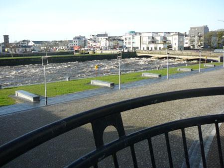 Vista dal mio appartamento, Galway