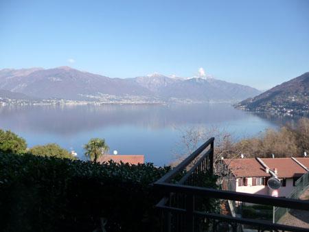 Vista appartamento Pino Lago Maggiore