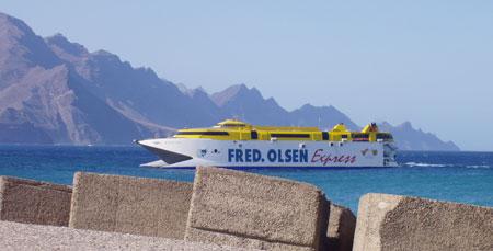 Fred Olsen Express da Tenerife a Gran Canaria
