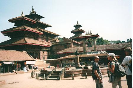 Templi in Katmandu, Nepal