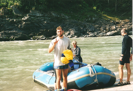 FRacesco, Rafting fiume Tamur - Nepal