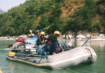 Guide nepalesi, Rafting Nepal