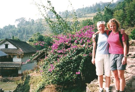 Lucia e Eve, Nepal