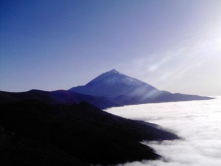 Nuvole viste dal Teide