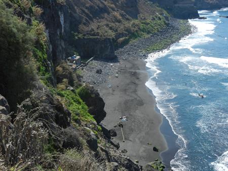 Caletta vicino a Puerto del Cruz, Tenerife