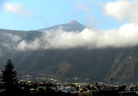 Teide da Puerto del Cruz, Tenerife