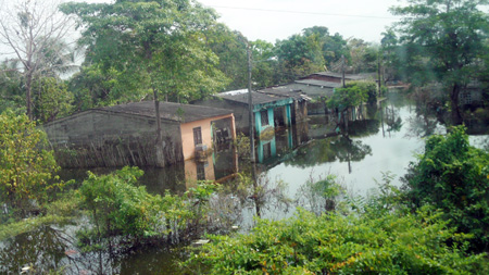 Residui dell'alluvione, Colombia
