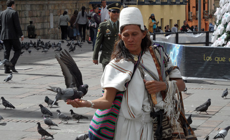 Julio Cesar, indigeno arhuaco