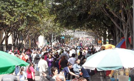 Bogotà di domenica