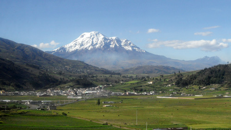 Vulcano Chimborazo, Ecuador, Ecuador
