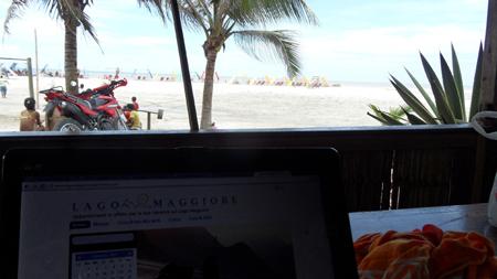 Il mio ufficio in Canoa, Ecuador