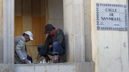 Giocando per strada, Bogotà