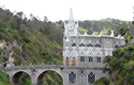 Santuario de la Lajas, Ipiales - Colombia