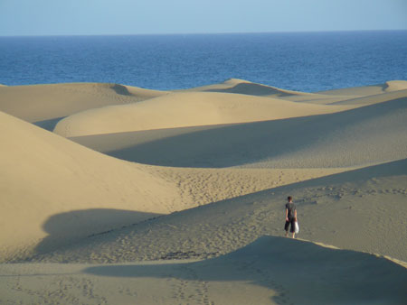 Dune di Maspalomas in Gran Canaria
