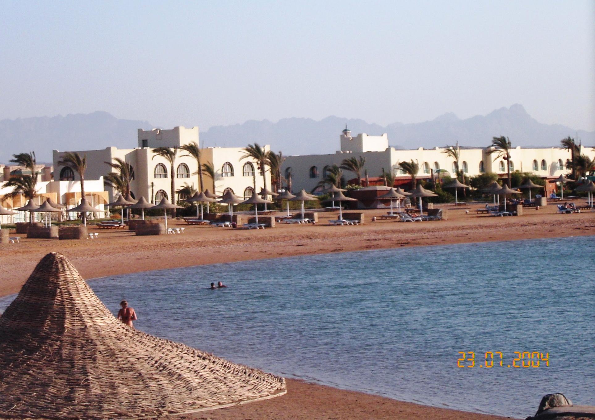 Baia spiaggia Hurgada, Egitto