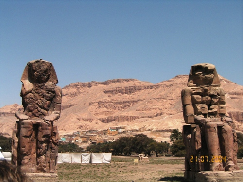 Colossimemnone, Egitto