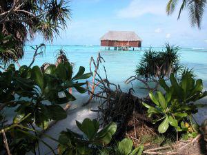 Palafitte alle Maldive