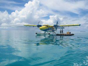 Watertaxi alle Maldive