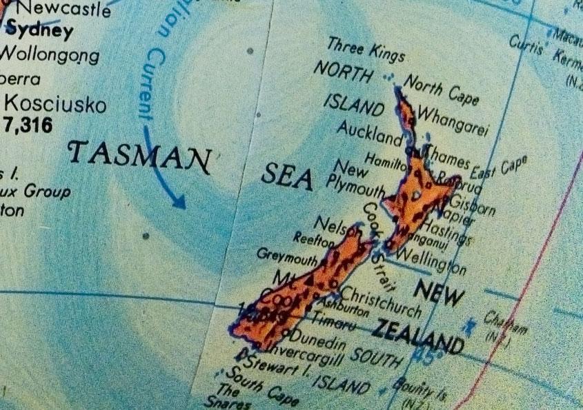 Cartina Geografica Della Nuova Zelanda.Viaggiare In Nuova Zelanda Viaggio Ed Informazioni Utili Foto