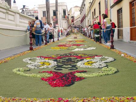 Tappeto di fiori