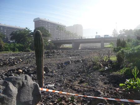 barranco playa jardin, puerto de la cruz Tenerife